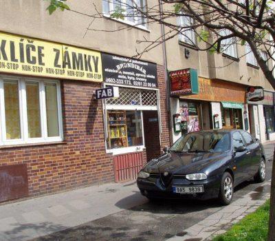 Provozovna Zámečnictví Brundibár v Praze